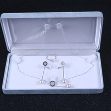 China Wholesale 3 Pieces 925 Sterling Silver Necklace Ring Earring Jewelry Set