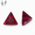 Synthetic 5# Triangle Ruby Gems Ruby Price Per Carat