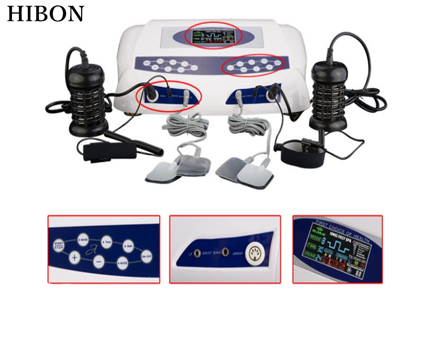 Hot sell Hydrogen ion detox foot Spa massager Body cleanse machine