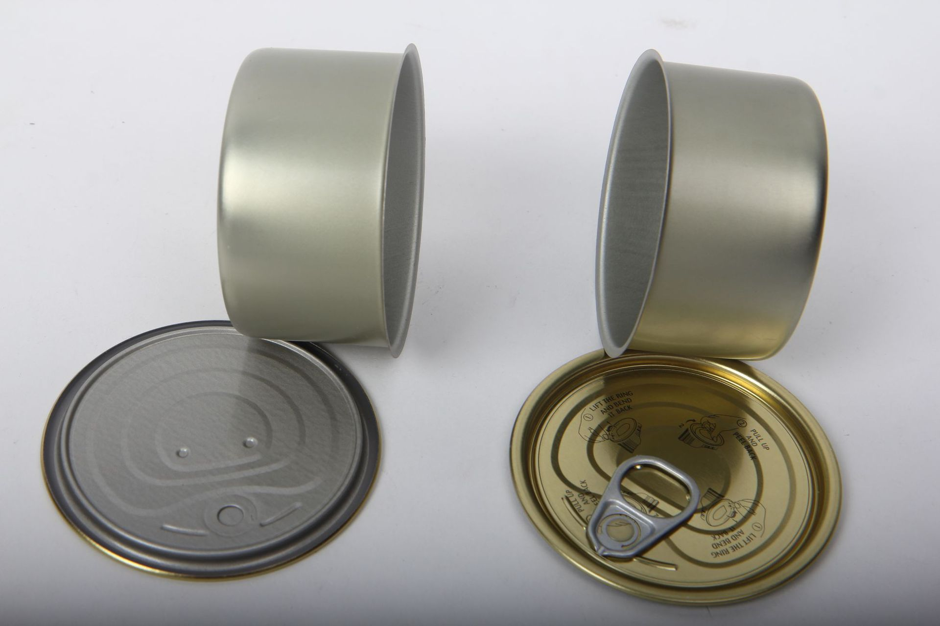 100ml Easy Pull Ring Tin Cans Hot Sale Pressitin Can With Easy Peel Off  Lids Smart Bud Cans - Buy Easy Peel Off Lid Can Tins,100ml Easy Pull Ring