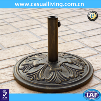 Outdoor Umbrella Sector Resin Bases Stand Patio Holder Parts