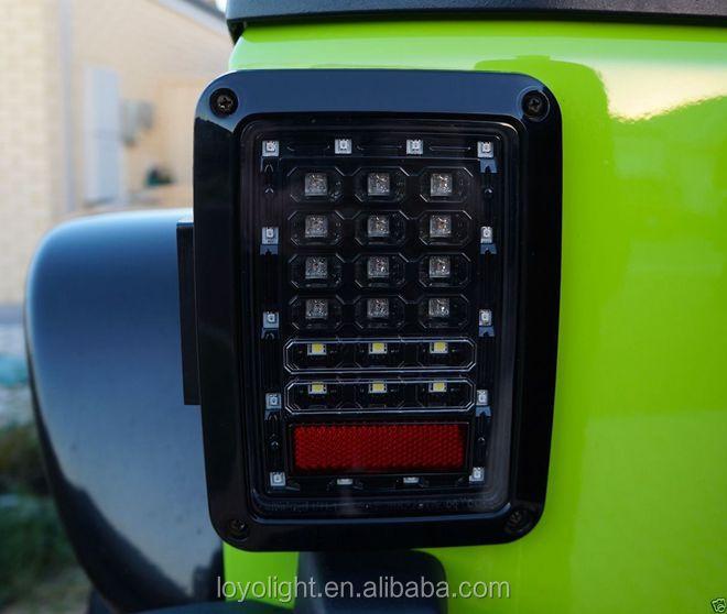 Us Jeep Wrangler Jk Led Brake Tail Lights Rear Signal Reverse – Jeep Jk Turn Signal Wiring Diagram