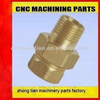 High quanlity cnc precision turning brass parts