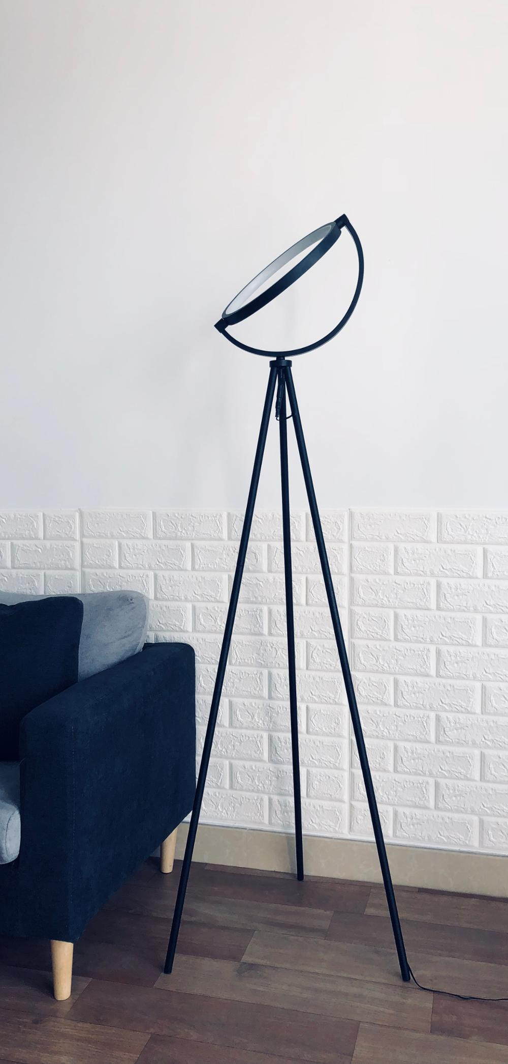 Home Decorate 8w Dimmable Standing Lighting Color Changing Led Tripod Floor Lamp Buy Tripod