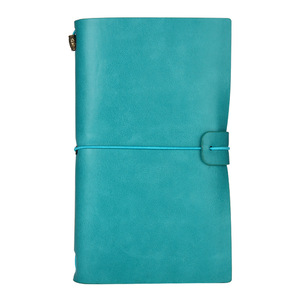 High Quality Handmade Vintage Leather Notebook Refillable gift business personalized notebook