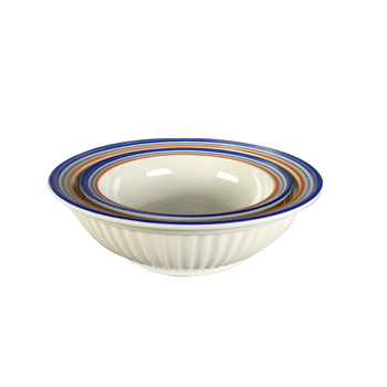 Hot selling round shape food grade melamine bowl