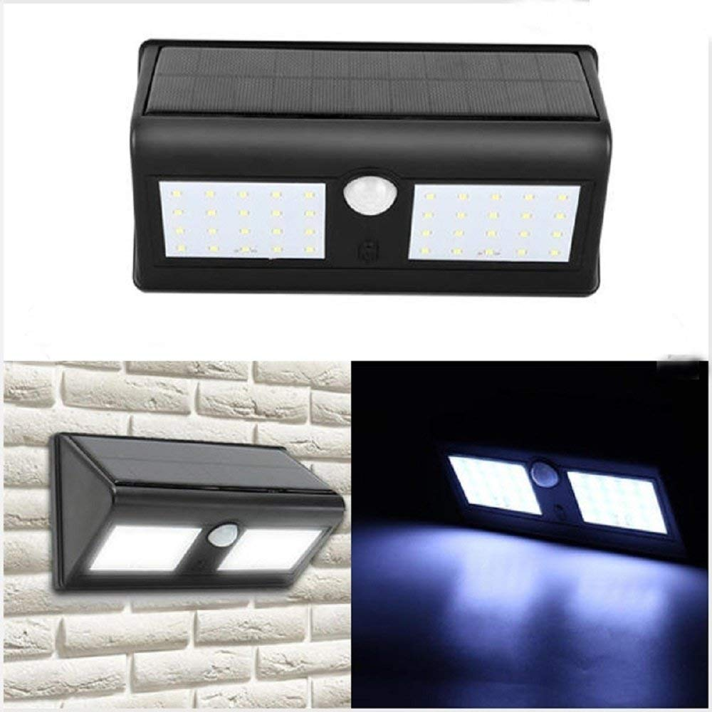 Svitlife Outdoor 40 LED Solar Power PIR Motion Sensor Wall Light Waterproof Garden Lamp
