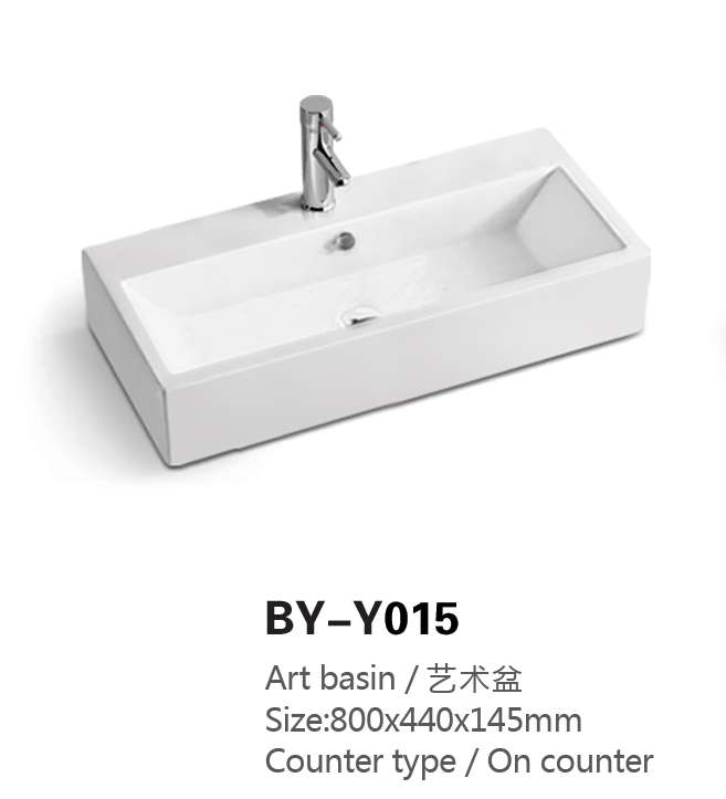 New Product Low Cost Wash Hand Sink Ceramic Commercial Bathroom Double Sinks