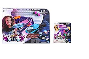 Nerf For Her Bundle - Nerf Rebelle Secret Spies Cross Bow + Nerf Rebelle Bliss Mini (Set of 2)