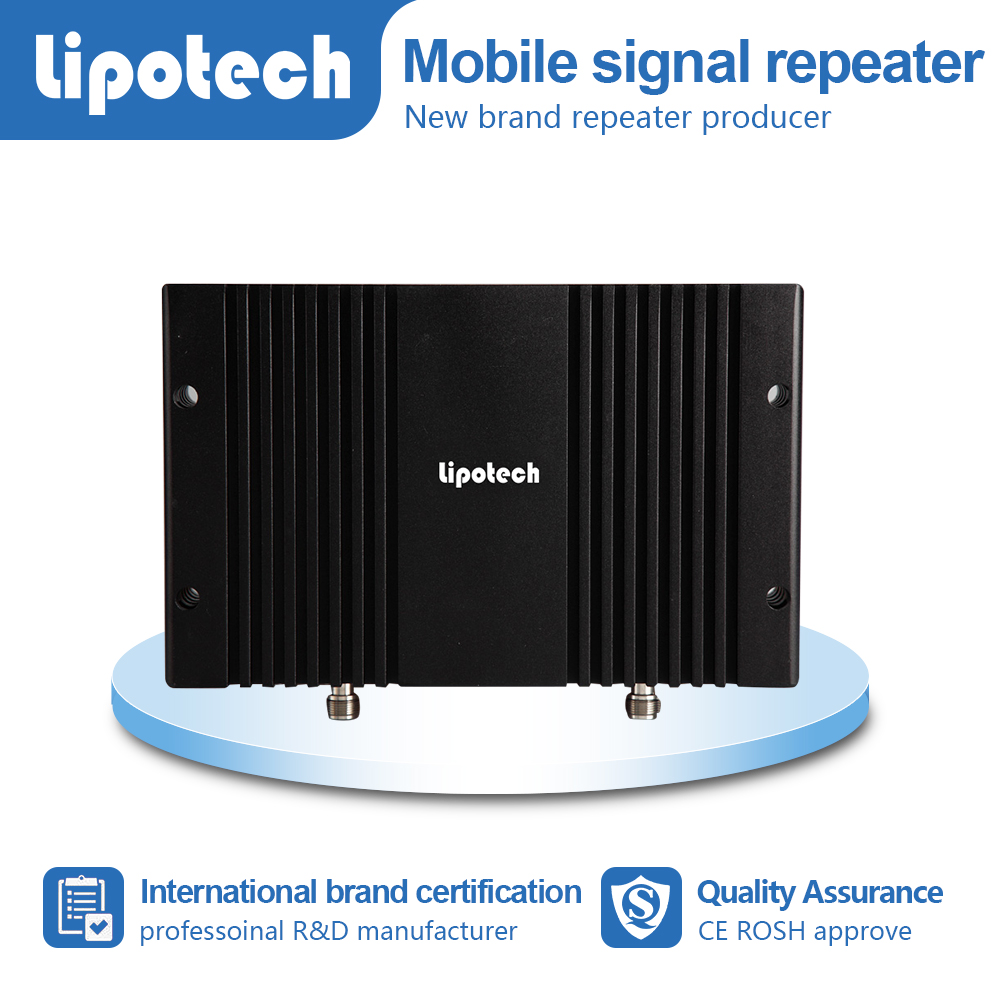 Lipotech brand 2G 3G Mobile wireless network repeater 23dBm single system EGSM signal receiver & booster