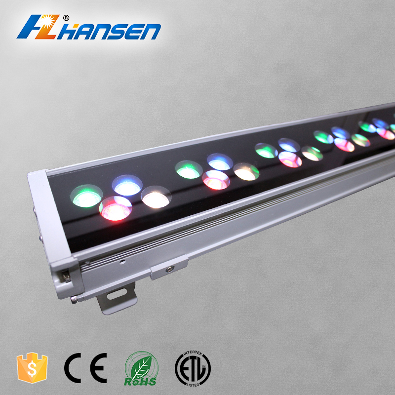 Professional Building Lighting RGBW/Single color IP65 wall washer led linear lamp dmx512