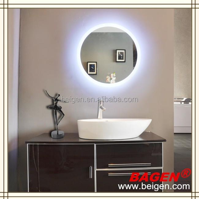 hotel de la manera led espejo acrilico hotel de lujo bao espejo de iluminacin