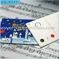 High quality Music Postcard/Voice Pre-record Postcards/Sound Recordable Post card