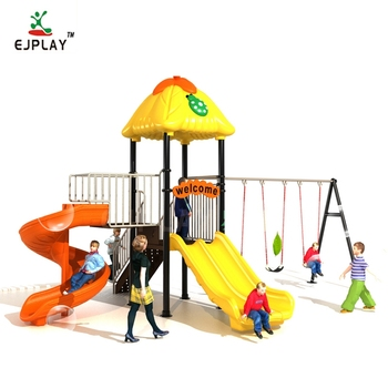 High Quality Amusement Park Toys Children Plastic Slide Outdoor Playground