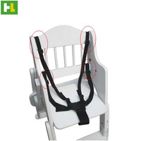 Fashion adjustable safety belt for baby stroller baby highchair seat
