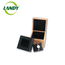 공장 Custom Wholesale 수 페리 어 나무 Jewelry Box 나무 Watch Box 대 한 Sales