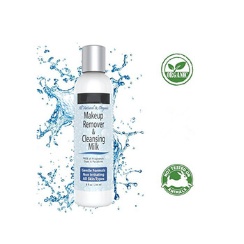 Natural soothing best makeup remover face cleansing milk for all skin