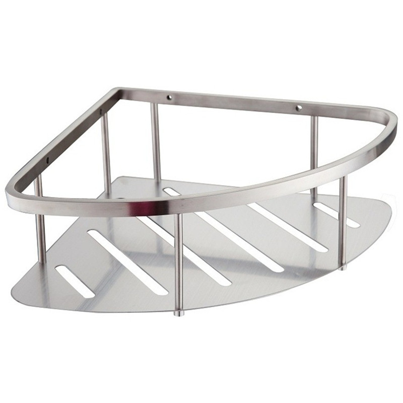 Stainless Steel Shower Shelf Stainless Steel Shower Shelf - Metal corner shelf bathroom for bathroom decor ideas