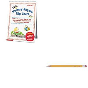 KITSHS0439513820UNV55400 - Value Kit - Scholastic Nursery Rhyme Flip Chart (SHS0439513820) and Universal Economy Woodcase Pencil (UNV55400)