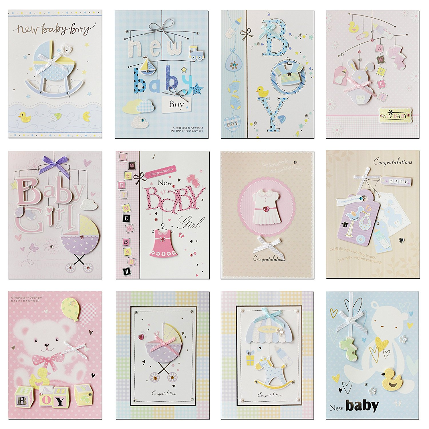 Buy Paptel Fantastic Congratulations Cards For New Baby New Baby