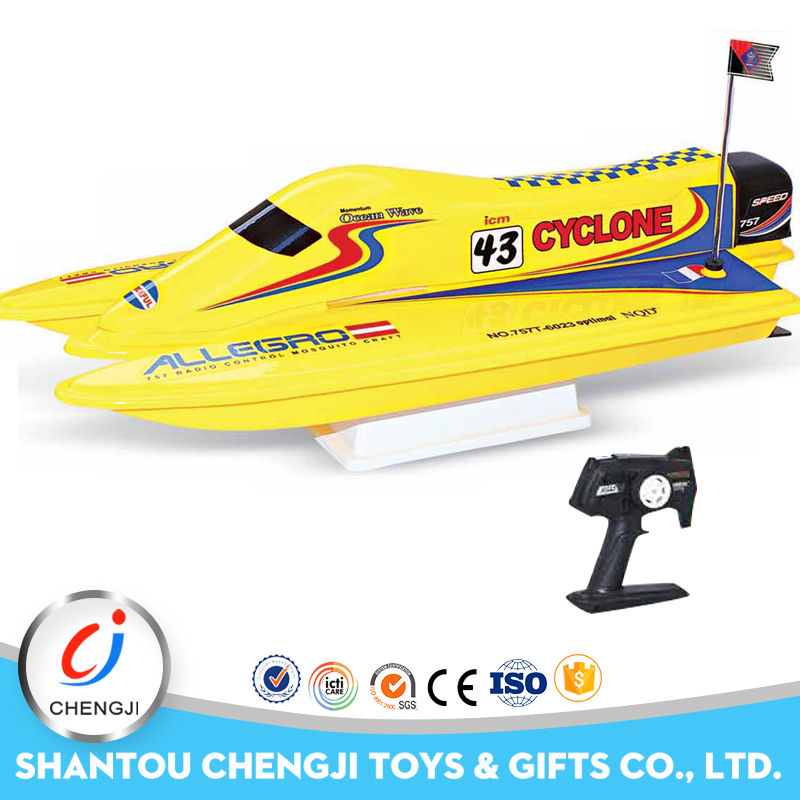 New and hot selling shantou factory high speed rc gas boat for sale