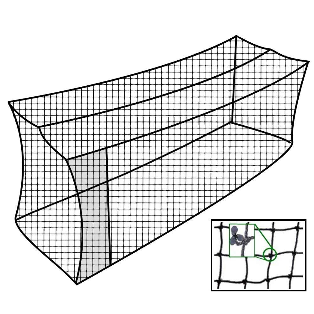 Cimarron Outdoor Sports Gaming Accessories 55x14x12 #42 Twisted Poly Batting Cage Net