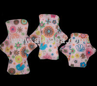 printed/solid Mama's Cloth,Menstrual Pads,Liners Washable with wings