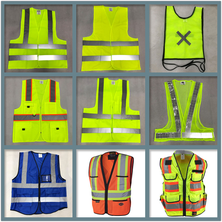 wholesale visibility glowing breakaway protection safety vest reflective for safety