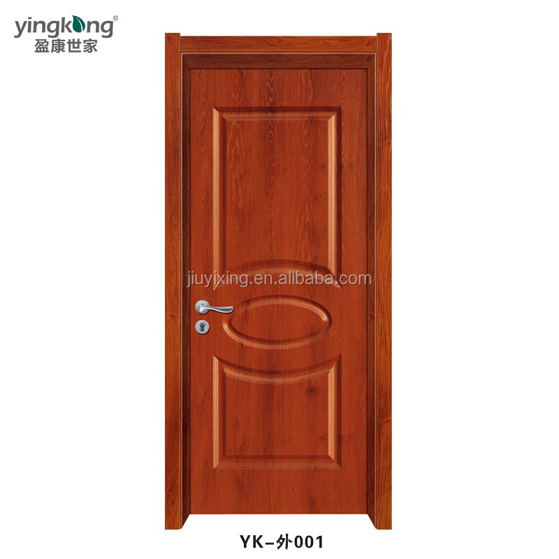 Modern No Formaldehyde Fire-Resist Waterproof Interior WPC Door