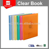 High Quality A4 FC PP Display Book