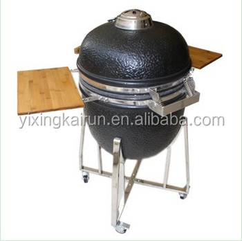 outside barbecue komodo kamado grill with trolley charcoal bbq grill - Kamado Grills