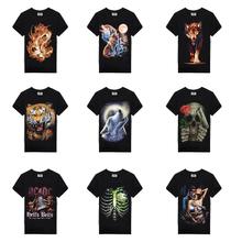 15 Stytle T Shirt  Hot Selling 2015 New camis 3d Printed T Shirt Men  M-XXXL 100% Cotton Causul Brand T-Shirt E99 Free Shipping