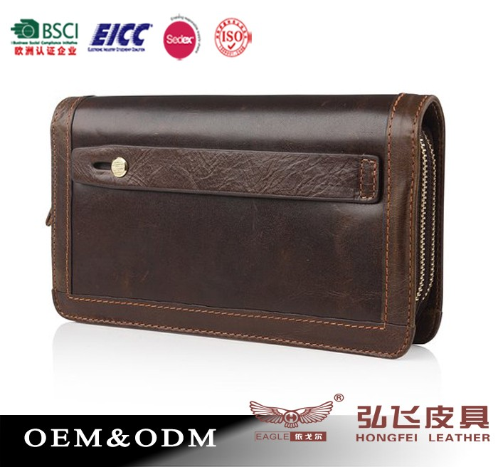 Luxury leather walet/ fashion wallet/ manufacturer wallet