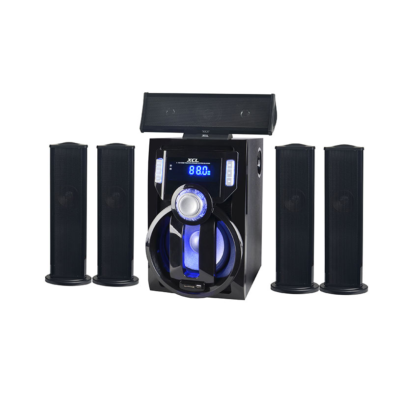2018 New product active multimedia 5.1 ch Home Theater Speaker Amplifier System with Smart TV capability