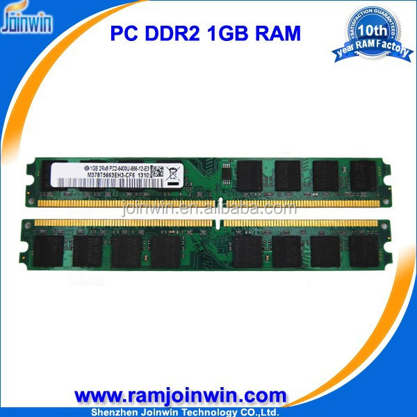 ETT chips 64mb*8/16c 800mhz pc2-6400 ddr 2 ram 1 gb accept paypal