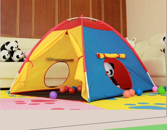 children kids play mobile tent/play hut toy/ baby play games tent