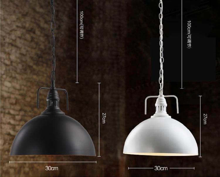 Lampade Da Soffitto Vintage : Illuminazione vintage retrò e ufficiale di tappo forma wok di