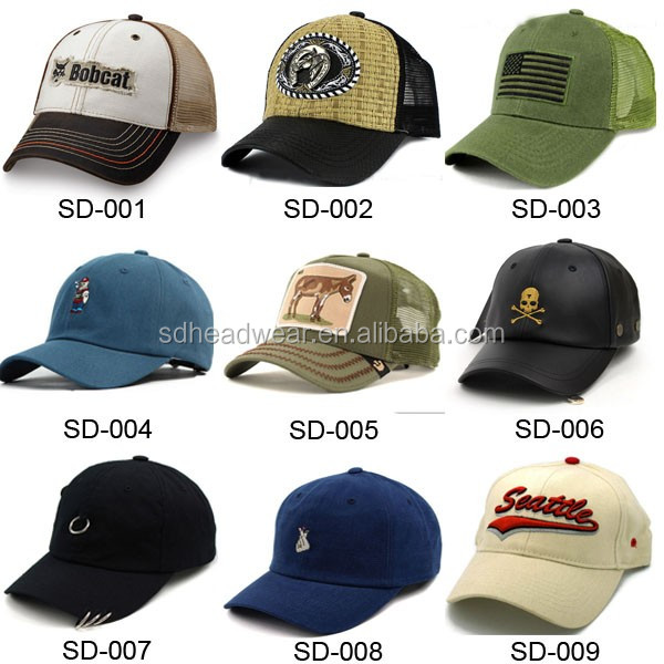 f5a76267d Mens 6-panel Pigment-dyed Distressed Trucker Cap Wholesale - Buy ...