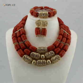 Coral Handmade necklace,Crystal beads necklace,Hand Made Crochet Necklace