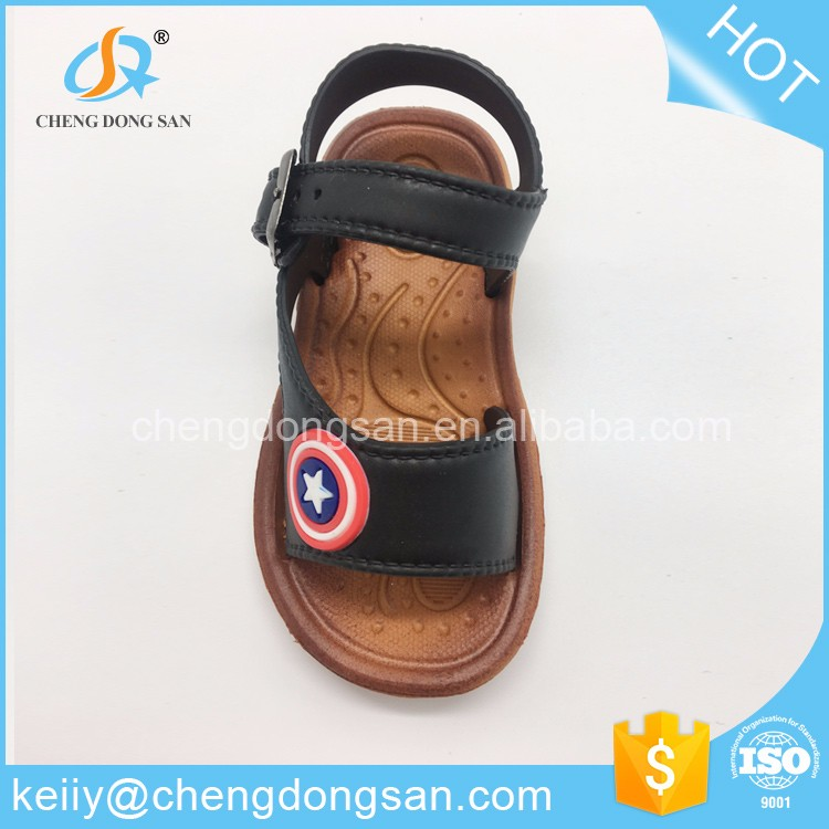 Customized classical style shoes kids boys stylish sandals