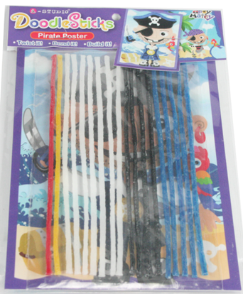 Kid educational craft flexible stick stem model  kit