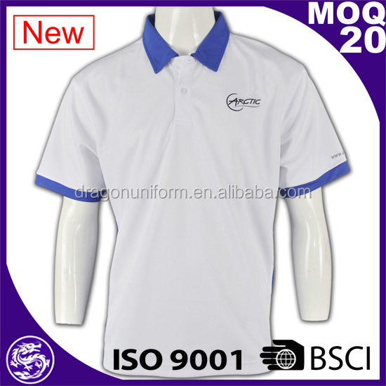 wholesale high quality fashionable personalised embroidered polo shirt