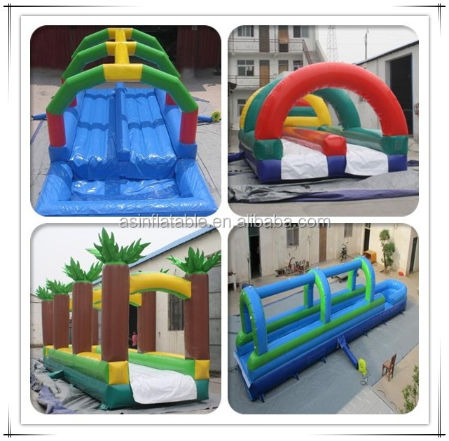 Body splash giant inflatable water slide for adult used - Used swimming pool slides for sale ...