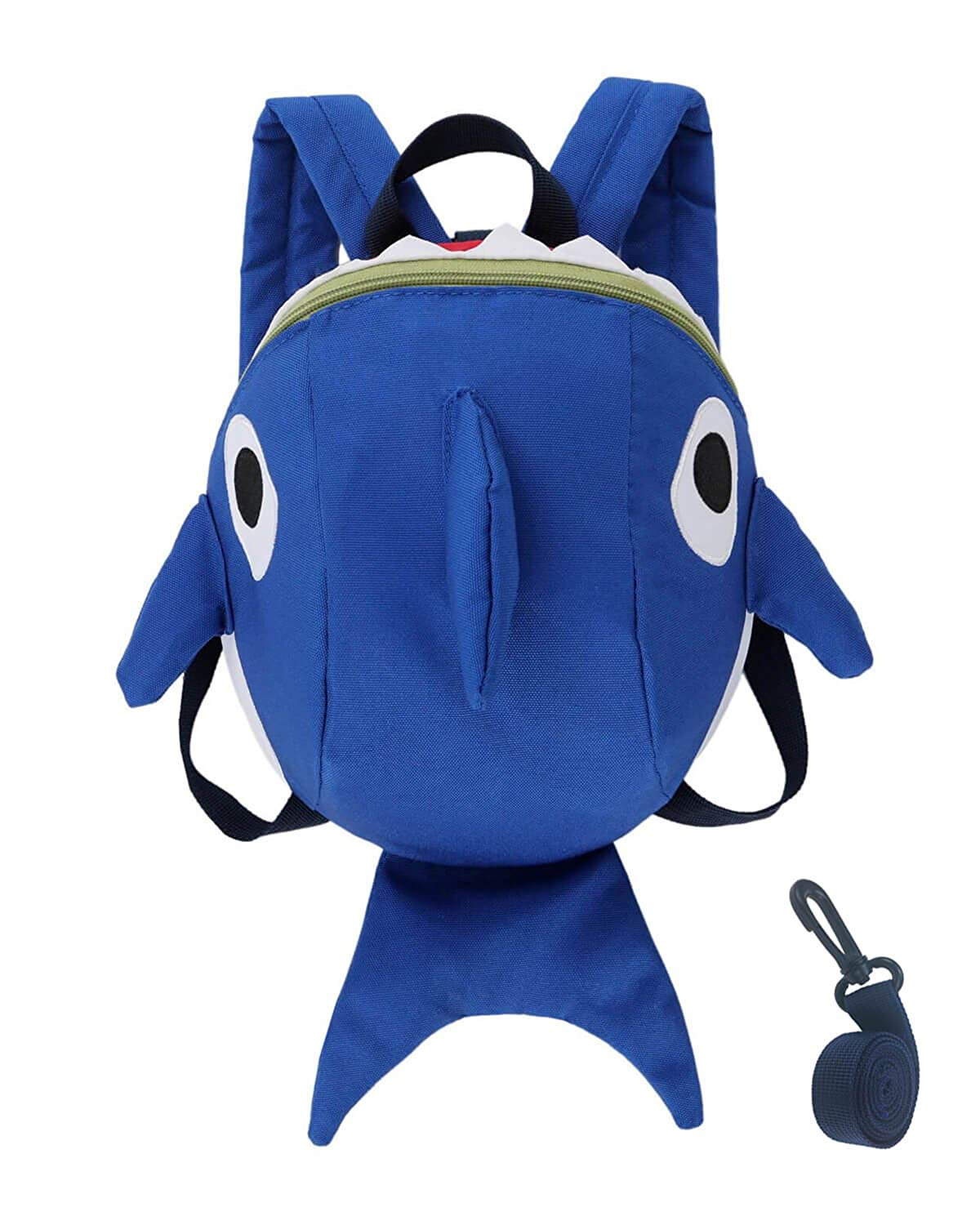 Get Quotations · Toddler Kids Leash Backpack Cute Shark with Safety Harness  Anti-lost Leash and Chest Strap 14da670891155
