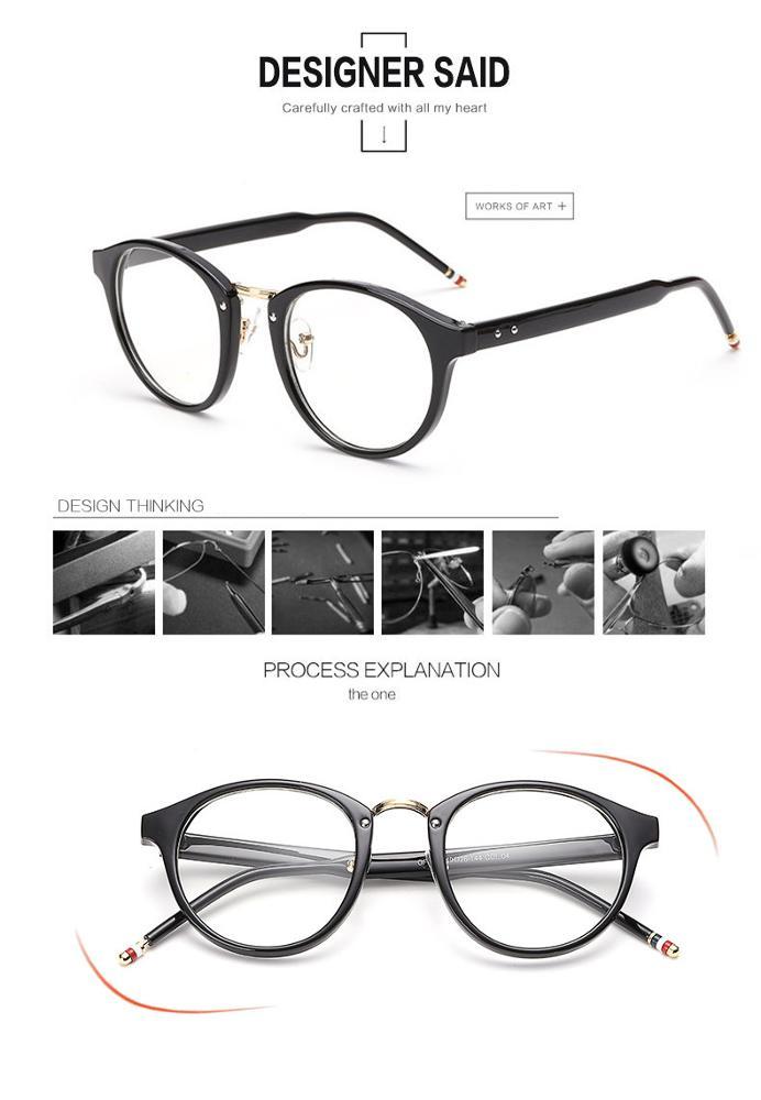 Mode Frauen Brillen Rahmen Transparente Optische Brillengestell ...