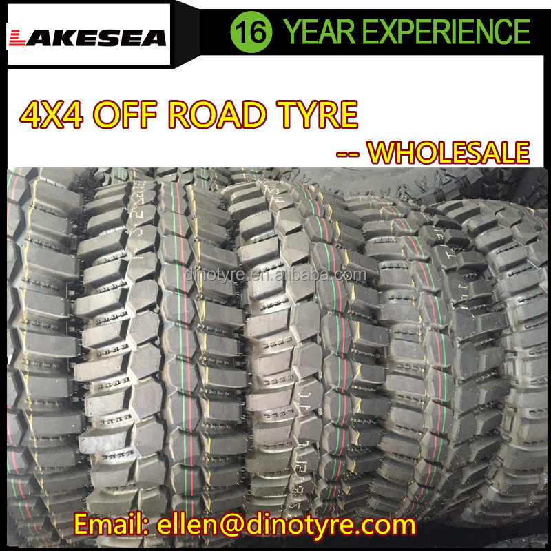 lakesea crocodile 4x4 off road/mud tire 31 x 10.5 r15