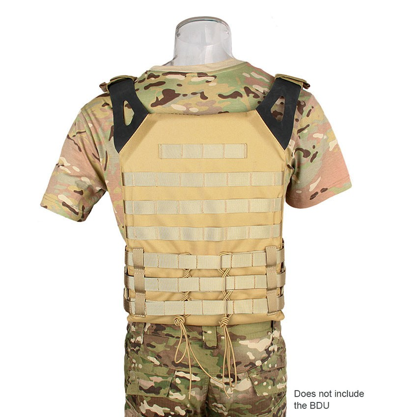 Durable Airsoft 600D Army Outer Carrier Tactical Airsoft Tactical Gear Reflection Safety SportsVest