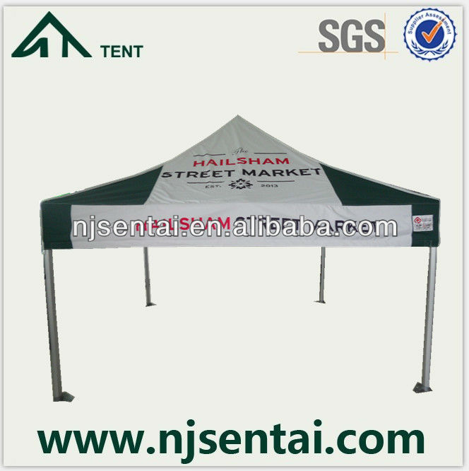 2013 Hot Product Aluminium Tube PVC Canopy/Aluminum 10x10 Gazebo/Aluminum Coated PVC
