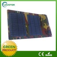 5V micro usb 7W foldable solar panel solar usb charger