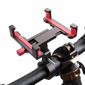 360 degree rotation bike mount cell phone holder scooter aluminum bicycle phone bracket mount